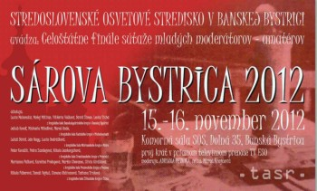 Celoštátne kolo súťaže mladých moderátorov Sárova Bystrica 2012