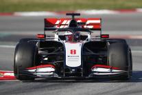 Romain Grosjean, tím Haas