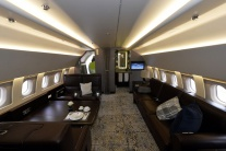 Airbus interiér vládny špeciál
