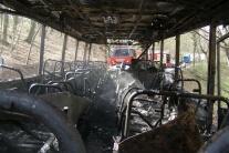 Požiar autobusu