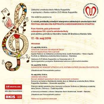 V Bratislave sa koná prehliadka mladých interpretov umeleckých škôl