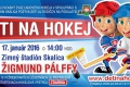 V Skalici usporiadali podujatie Deti na hokej, prišlo 80 detí