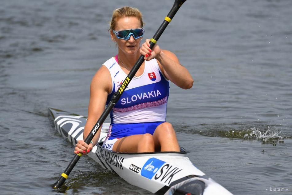 Na snímke slovenská reprezentantka v rýchlostnej kanoistike Ivana Mládková. Foto: TASR Michal Svítok