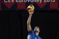 ME vo volejbale Slovensko - Španielsko