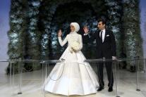 Šatky nosia moslimské nevesty, modelky, političky a športovkyne