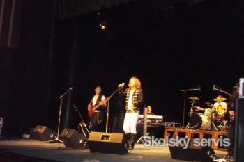 Na koncerte v Nitre spolu s Petrom Nagyom spievali aj diváci