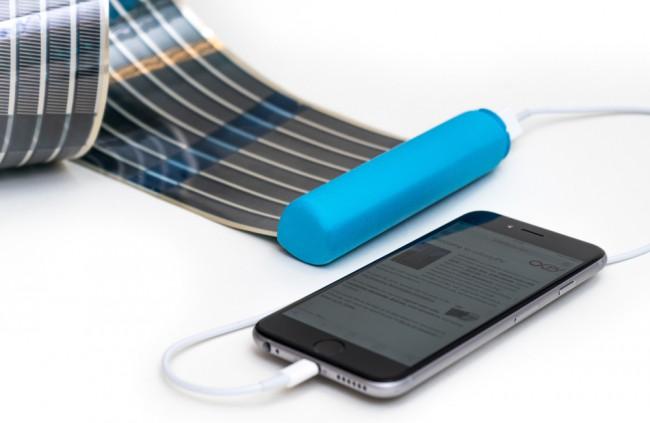 c45efdd616963 Solárna nabíjačka na mobil, ktorú zrolujete ako papier - Technológie ...