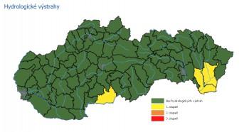SHMÚ varuje: V okresoch Michalovce a Veľký Krtíš môže prísť povodeň