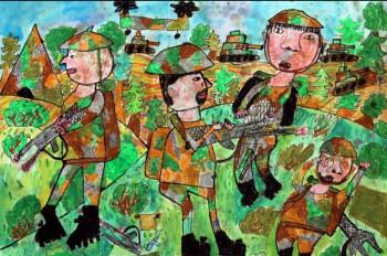 Žiaci ZŠ sa môžu zapojiť do výtvarnej súťaže Vojaci očami detí