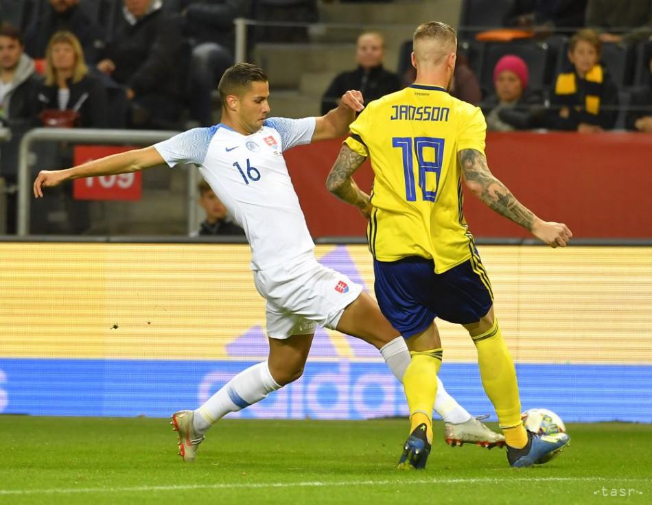 399743226f6b0 Slovenskí futbalisti remizovali v príprave so Švédskom