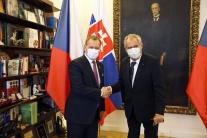 Miloš Zeman a Boris Kollár