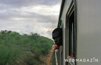 Fotoreportáž: Vo východnej Afrike pomaly dožíva posledný vlak