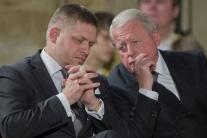 Premiér R.Fico si v Prahe prevzal Rad Bieleho leva