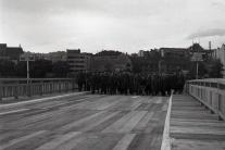 Starý most v rokoch 1945 - 1947