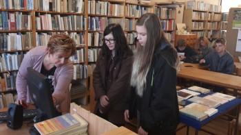 Informatizácia prvákov v knižnici