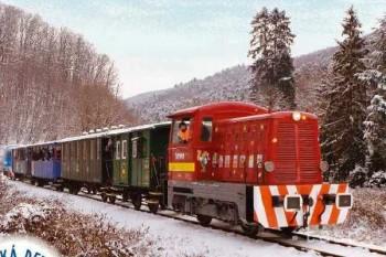 Detská železnica Košice pripravila pre deti Veselú mikulášsku jazdu