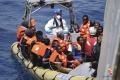Za jediný deň zachránili v Stredozemnom mori viac ako 3400 migrantov