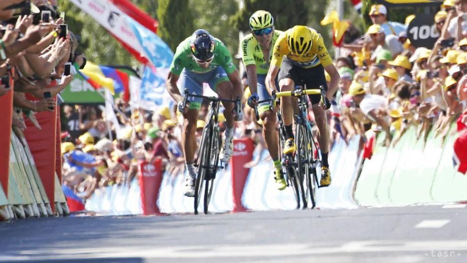 fd9ddf70d0557 VIDEO: Sagan skončil 14. etapu ako tretí, prvý dorazil Cavendish