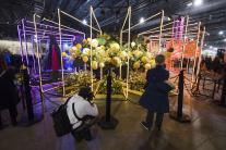 Philadephia, kvety, výstava