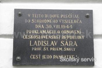 Účastník SNP Ladislav Sára sa narodil pred 100 rokmi
