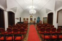 Sobášna miestnosť barokového kaštieľa