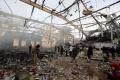 Počet obetí leteckého útoku na trhovisku stúpol, Rusko vinu odmieta