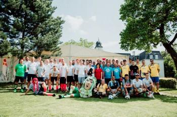 Footgolfový turnaj privítal športovcov, médiá, najlepších hráčov sveta