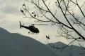 Vrtuľník zasahoval pri nehode motocyklistu s nákladným autom