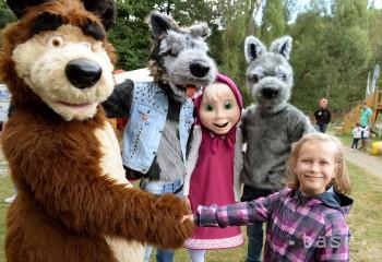 TOP: Košickú zoo zaplnia desiatky rozprávkových postavičiek