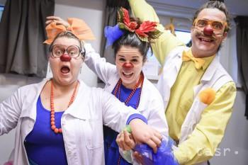 Zdravotní klauni vlani ponúkli 2187 klauniád