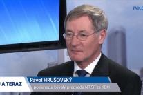 HRUŠOVSKÝ: Post predsedu parlamentu nemusí byť Pellegriniho posledný