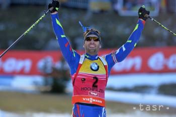Biatlon: Fourcade ovládol stíhacie preteky na SP, Kazár opäť osemnásty