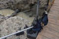 Okolie Gwerkovej ulice v Petržalke je bez vody, prasklo potrubie