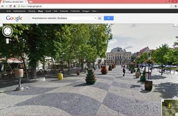Slováci môžu sami rozhodnúť, čo bude nové v Street View