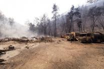 Hasiči zasahovali pri požiaroch v Aténach