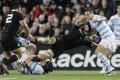 Novozélandskí ragbisti stanovili rekord v počte víťazstiev v sérii