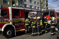 Požiar bytu v bratislavskej Vrakuni