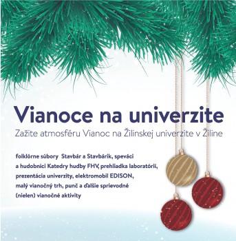 V Žilinskej univerzite zavládne vianočná atmosféra
