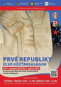 Putovná výstava Prvé republiky v Nových Zámkoch