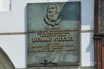 Stöcklova ulica v Bardejove dostala meno po významnom reformátorovi