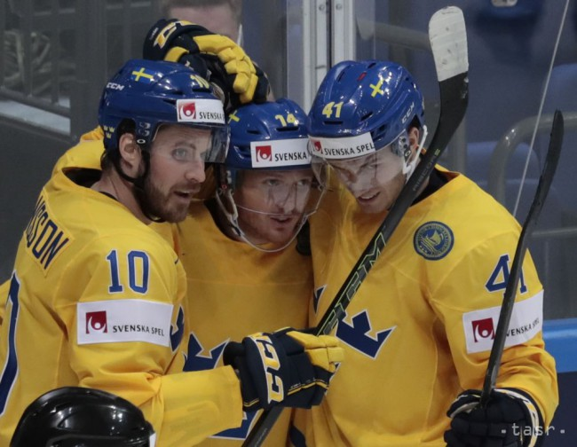 84228cfc5ddab MS v hokeji 2016: Švédsko po predĺžení zdolalo Lotyšsko 2:1 - 24hod.sk