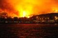 Na juh Chorvátska sa rozšíril lesný požiar z Čiernej Hory