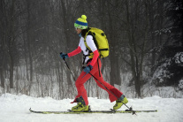 Skialpinistka
