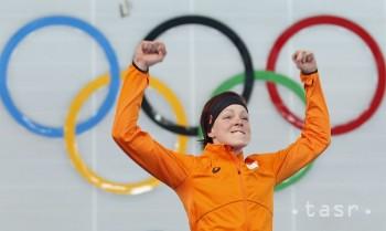 Zlato na MS v rýchlokorčuľovaní 1000 m získala Holanďanka Ter Morsová