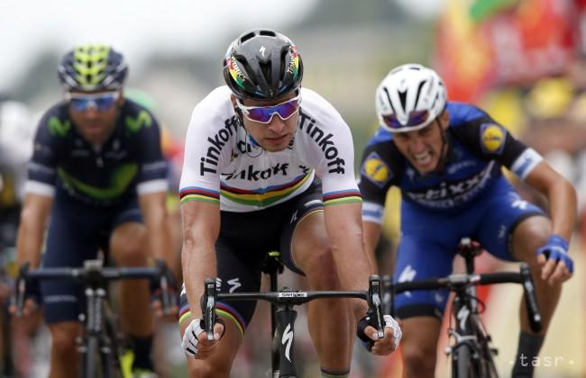 37e368f517c94 Sagan vyhral 2. etapu Tour de France a obliekol si žltý dres - 24hod.sk