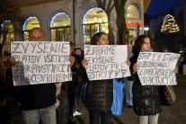 Protest proti rozkrádaniu slovenského zdravotníctv