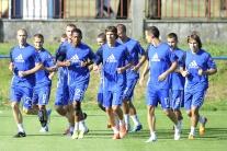 2. predkolo Slovan - Videoton tréning