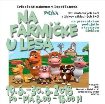 Topoľčany: Tribečské múzeum približuje deťom život zvierat na farme
