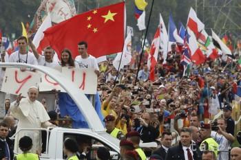 Pápež sa stretol s účastníkmi Svetových dní mládeže