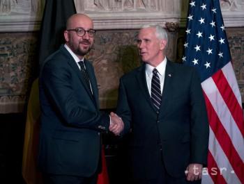 Belgický premiér chce s viceprezidentom USA hovoriť o citlivých témach